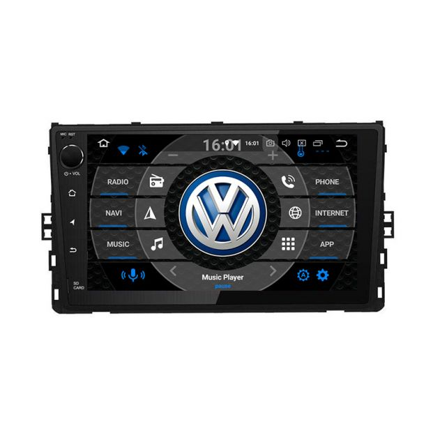 Best Gps 2020.Belsee Best Aftermarket Android 9 0 Auto Head Unit Car Radio Replacement Stereo For 2018 2019 2020 Vw Volkswagen Universal Polo Tiguan Jetta Atlas