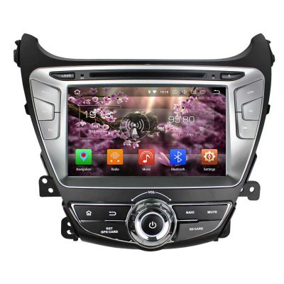 Belsee Aftermarket Android 8.0 Oreo 2 Din Car Stereo Auto Radio Upgrade for Hyundai Elantra 2014 2015 8 inch IPS Dual Touch Screen Head Unit Audio GPS Navigation Multimedia System 8 Core PX5 Ram 4GB Rom 32GB OBD2 Steering Wheel Controls Carplay Wifi