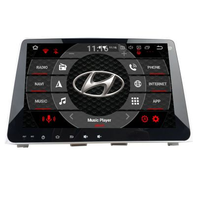 Belsee Aftermarket 2018 2019 Hyundai Sonata Android 8.0 Oreo Head Unit Auto Radio Replacement Stereo Upgrade Audio System Parts 9 Inch IPS Touch Screen Multimedia Player Octa Core PX5 Ram 4GB Rom 32GB GPS Navigation Bluetooth Wifi Carplay