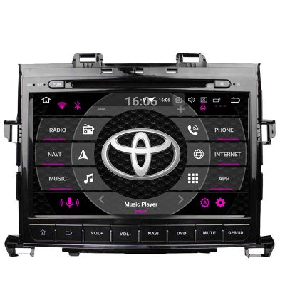 Belsee Aftermarket Double Din Android 8.0 Radio Replacement Stereo Upgrade Head Unit for Toyota Alphard 2007-2013 9 Inch IPS Touch Screen GPS Navigation System Octa Core PX5 Ram 4GB Rom 32GB Audio Multimedia Player Apple Carplay Android Auto Wifi DAB+