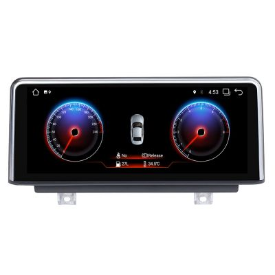 Belsee Android 9.0 Auto Head Unit 10.25 inch IPS Screen Upgrade for BMW 3 Series F30 F31 F34 4 Series F32 F33 F36 NBT iDrive Parts 2013-2017 M3 F80 M4 F82 In Dash Car GPS Navigation System Apple CarPlay Android Auto Multimedia Player Radio PX6 Ram 4GB