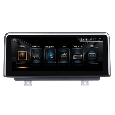 Belsee Aftermarket 10.25 inch Touch Screen Upgrade Android 9.0 Car Head Unit Replacement for BMW 1 Series F20 F21 2011-2017 2 Series F22 F23 F45 Cabrio MPV NBT 2013-2017 AutoRadio Stereo In Dash GPS Navigation System Multimedia Player System PX6 Ram 4GB