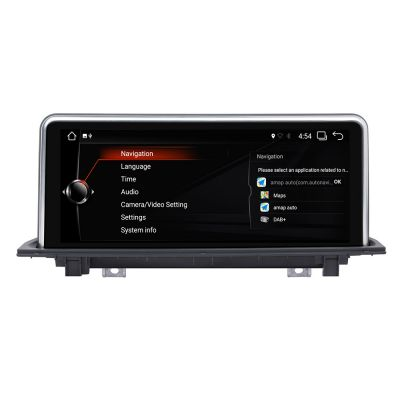 Belsee Aftermarket 10.25 inch Touch Screen Upgrade Android 8.1 Oreo Navigation Head Unit Radio Replacement for BMW X1 NBT system 2016 2017 PX6 6 Core Ram 2GB Rom 32GB GPS Audio Video Multimedia Player Carplay Wifi Bluetooth Apps Phone Link