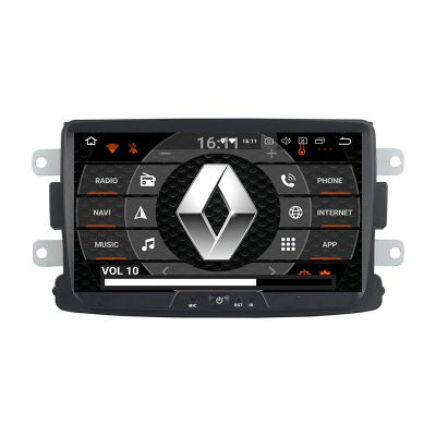 Belsee Aftermarket Android 9.0 Pie Auto Radio Upgrade Stereo Replacement Head Unit for Renault Dacia Sandero Duster Captur Lada Xray 2 Logan 2 2013 2014 2015 2016 8 inch IPS Touch Screen Android Auto Apple Carplay GPS Navigation System Octa Core Ram 4GB