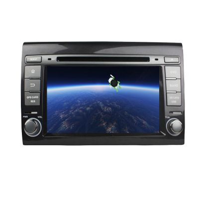 Belsee Fiat Bravo 2007-2012 Aftermarket Autoradio Android 8.0 Oreo Double 2 Din Car Radio Head Unit with GPS Navigation System DVD Player Auto Stereo 7