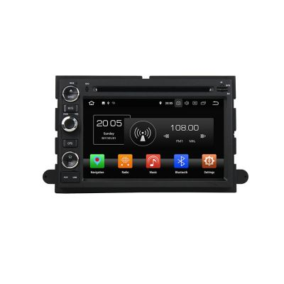 Belsee Best Aftermarket Android 8.0 Oreo Auto Head Unit Sat Nav Double 2 Din Bluetooth Radio with Navigation Car Stereo for Ford F150 Edge Fusion Explorer Expedition DVD Player 7