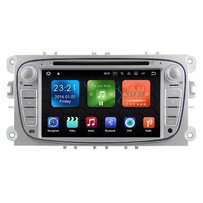 Belsee Best Ford Factory Radio Replacement Head Unit Android 8.0 Oreo Octa Core PX5 Ram 4GB Rom 32GB DVD Player Receiver Navigation for Mondeo Focus S-Max C-Max Galaxy