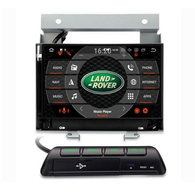 Belsee Aftermarket Best Android 9.0 Auto Head Unit Stereo Upgrade Radio Replacement for Land Rover Freelander II 2 2007 2008 2009 2010 2011 2012 7 inch Touch Screen GPS Navigation Audio System Octa Core PX5 Ram 4GB Apple CarPlay Auto Multimedia Player