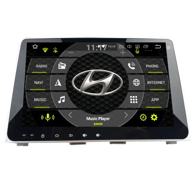 Belsee Android 9.0 Auto Head Unit Car Radio Replacement Stereo Upgrade for 2018 2019 Hyundai Sonata In Dash GPS Navigation System Audio Video Multimedia Player Apple CarPlay Android Auto Bluetooth Octa Core PX5 Ram 4GB Rom 64GB DSP Amplifier