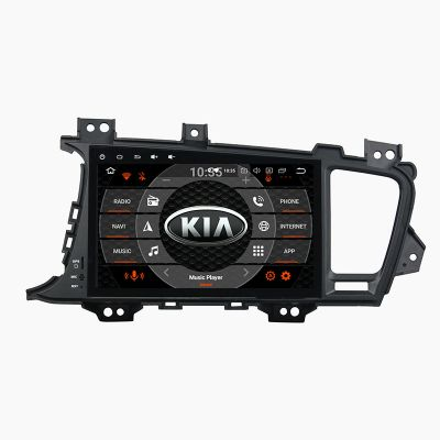 Belsee Aftermarket Android 9.0 Auto Head Unit Radio Replacement Car Stereo Upgrade for Kia Optima K5 2011 2012 2013 9 inch Touch Screen IPS DSP In Dash GPS Navigation System Audio Video Player Apple CarPlay Android Auto Bluetooth Octa Core PX5 Ram 4GB 64G