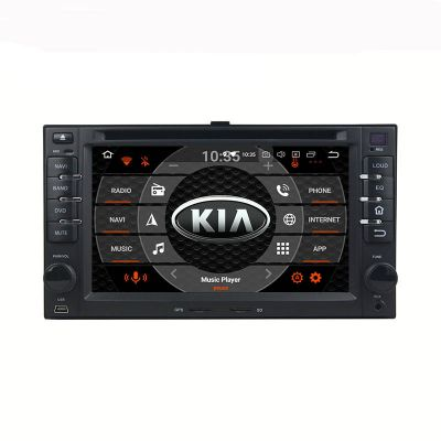 Belsee Android 9.0 Aftermarket Stereo Upgrade Car Radio Replacement Head Unit for KIA Cerato Sportage CEED Sorento Spectra Optima Rondo Rio Sedona Carens Universal Old Years Apple CarPlay Android Auto Multimedia Player GPS Navigation Octa Core PX5 Ram 4GB