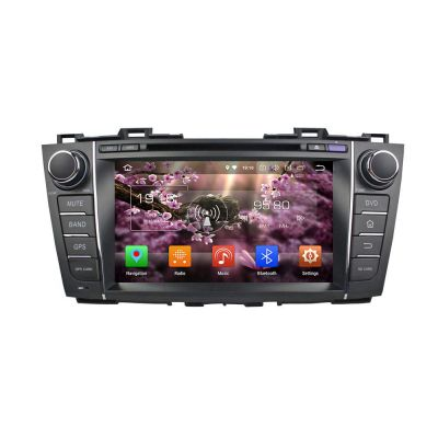 Belsee Aftermarket Stereo Android 8.0 Oreo Auto Head Unit Car Radio for Mazda 5 Premacy 2009 2010 2011 2012 2013 8 inch Dual IPS Screen GPS Navigation Audio System Octa Core PX5 Ram 4GB Rom 32GB support Bluetooth Wifi Carplay Android Auto Back Up camera