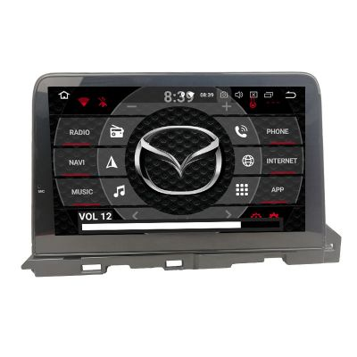 Belsee Aftermarket Android 9.0 Pie Auto Head Unit Car Radio Replacement Stereo Upgrade for Mazda 6 atenza 2018 2019 In Dash GPS Navigation Multimedia Player Apple CarPlay Android Auto Octa Core PX5 Ram 4GB Rom 64GB Bluetooth