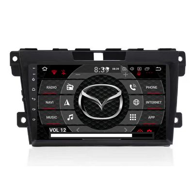 Belsee Aftermarket 9 inch IPS Touch Screen Car Radio Upgrade Android 9.0 Pie Head Unit for Mazda CX 7 CX-7 2008-2015 PX6 Ram 4GB In Dash GPS Navigation System Multimedia Player Apple CarPlay Android Auto Bluetooth