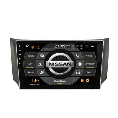 Belsee Aftermarket Android 8.0 Oreo Head Unit Car Radio GPS Navigation Audio System for Nissan Sylphy B17 Sentra 2012 2013 2014 2015 10.1 inch Touch Screen Stereo Upgrade Octa Core PX5 Ram 4GB Rom 32GB Multimedia Player Video 4K support Mirror Link OBD2