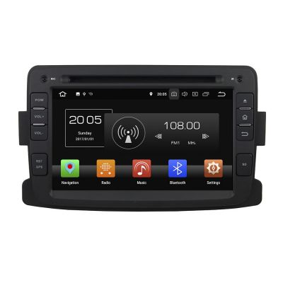 Belsee Aftermarket Android 8.0 Autoradio Car Radio for Renault Dacia Sandero Duster Captur Lada Xray 2 Logan 2 2013 2014 2015 2016 In Dash Car Stereo GPS Navigation System Head Unit 7 Inch Touch Dual IPS Screen Single 1 Din Video Audio DVD Player Wifi 4K