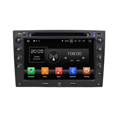 Belsee Best Aftermarket Android 8.0 Autoradio Renault Megane 2 II 2001-2010 Bluetooth Stereo Upgrade Head Unit Car multimedia DVD Video Audio Player 7