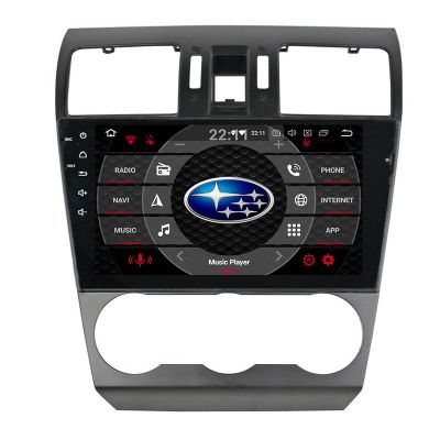 Belsee Best Aftermarket Subaru Forester XV 2013 2014 Auto Android 9.0 Pie Head Unit Radio Replacement Car Stereo Upgrade 9 inch Touch Screen IPS GPS Navigation System Multimedia Player Apple CarPlay Android Auto Bluetooth