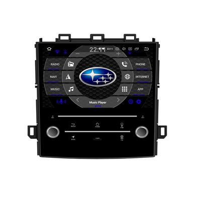 Belsee Aftermarket Subaru XV Impreza 2017 2018 2019 Android 9.0 Pie Auto Head Unit Car Stereo Upgrade Radio Replacement 8 inch IPS Touch Screen 1280x720 Resolution Octa Core PX5 Ram 4GB Rom 64GB GPS Navigation System Multimedia Player Apple Carplay