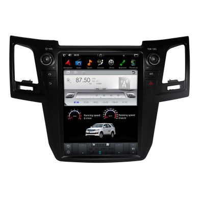 Belsee 12.1 inch IPS Tesla Style Touch Screen Head Unit Android 7.1 / 9.0 Auto Radio for Toyota Fortuner 2004-2015 In Dash Audio Music System Upgrade Stereo Multimedia Player PX6 Ram 4GB Apple CarPlay Android Auto