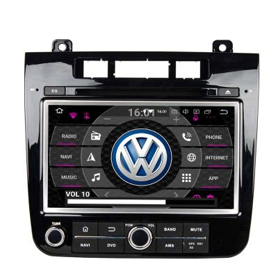 Belsee Aftermarket 8 inch IPS Touch Screen Android 8.0 Oreo GPS Navigation System for VW Volkswagen Touareg 2011 2012 2013 2014 Head Unit Upgrade Car Radio Stereo Replacement PX5 Octa Core Ram 4GB Rom 32GB Apple Car play Android Auto Audio Multimedia