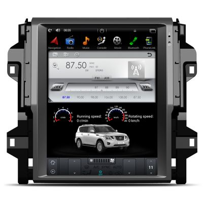 Belsee Tesla Style 12.1 Inch Vertical Touch Screen Radio Android 7.1 Nougat System Navigation Stereo for Toyota Fortuner 2016 2017 Head Unit Audio Video Multimedia Player Satnav Quad Core PX3 Ram 2GB Rom 32GB Bluetooth Wifi Support Apple Carplay Auto