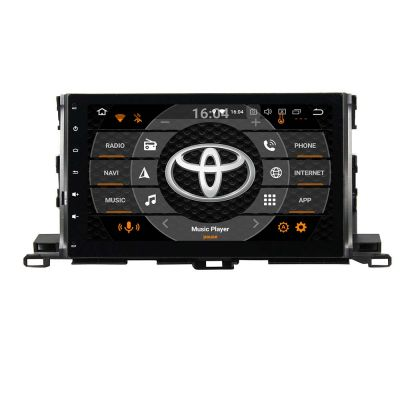 Belsee Aftermarket Android 9.0 Pie Head Unit Radio Replacement Car Stereo Upgrade for Toyota Kluger Highlander 2015 2016 2017 2018 2019 10.1 inch Touch Screen IPS Tablet GPS Navigation System Octa Core PX5 Ram 4GB Rom 64GB DSP Amplifier Apple CarPlay Wifi