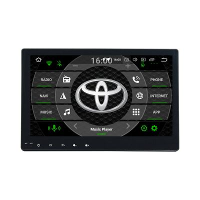 Belsee Best Aftermarket Android 9.0 Auto Head Unit Car Radio Stereo Upgrade for Toyota Hilux Revo 2016 2017 2018 2019 10.1 inch IPS Touch Screen In Dash GPS Navigation System Multimedia Player Audio Apple CarPlay Android Auto Ram 4GB Rom 64GB DSP