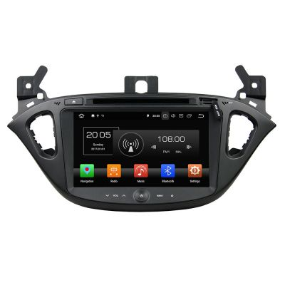 Belsee Best Aftermarket Android 8.0 Head Unit Double 2 Din Auto Stereo Upgrade Vauxhall Opel Corsa 2014-2017 Radio Replacement In Dash Car GPS Navigation System Audio DVD CD Player 8
