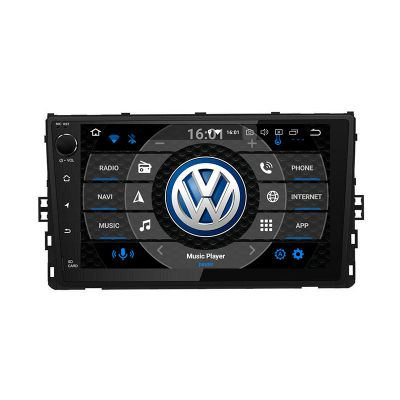 Belsee Best Aftermarket Android 9.0 Auto Head Unit Car Radio Replacement Stereo for 2018 2019 2020 VW Volkswagen Universal Polo Tiguan Jetta Atlas Golf T-Roc 9 inch IPS Touch Screen GPS Navigation System Apple CarPlay Android Auto Bluetooth Octa Core DSP