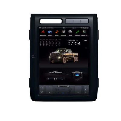 Belsee Best Aftermarket Tesla Style Vertical Screen Radio for Ford F-150 F150 2009-2013 12.1 inch IPS Touch Screen Android 9.0 Auto Head Unit Stereo Upgrade GPS Navigation Replacement Bluetooth Wifi Sat Nav Wireless Apple CarPlay