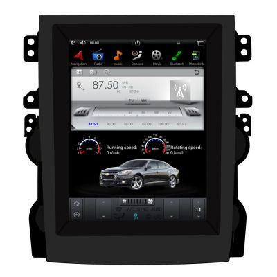Belsee Best Aftermarket Tesla Style Android 9 Auto Screen Radio Replacement for Chevrolet Chevy Malibu 2013 2014 2015 2016 Apple CarPlay GPS Navigation Audio System Head Unit Car Stereo Upgrade 10.4 inch Sat Nav PX6 Ram 4G Rom 64GB DSP Bluetooth Wifi