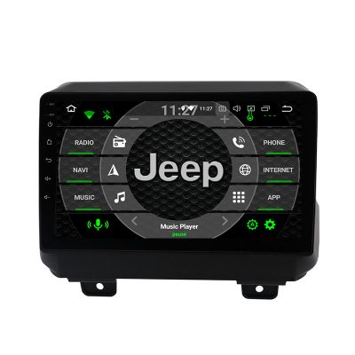 Belsee Wireless Apple CarPlay Android Auto Android 10 Head Unit Stereo Upgrade for Jeep Wrangler 2018-2021 Best Aftermarket In Dash GPS Navigation Audio system Multimedia Player Radio Replacement 9 inch Touch Screen Wifi Bluetooth PX6 DSP OBD2 Autoradio