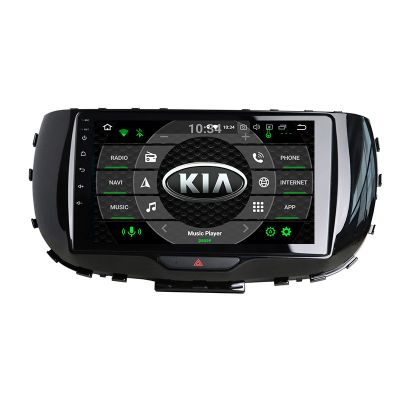 Belsee Best Aftermarket Android 10 Q Auto Head Unit Car Stereo Upgrade Radio Replacement for Kia Soul 2019 2020 In Dash Navigation System Multimedia Player PX6 Ram 4GB Rom 64GB Apple CarPlay Bluetooth Wifi 9 inch Touch Screen Audio