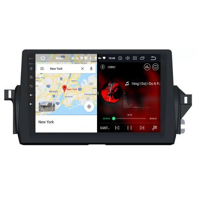 Belsee Best Aftermarket Wireless Apple CarPlay Android 10 Auto Head Unit Stereo Upgrade Radio Replacement for 2021 Toyota Camry 10.1 inch IPS Touch Screen GPS Navigation System Sat Nav Multimedia Player PX6 DSP Wifi Bluetooth Ram 4GB Rom 64GB