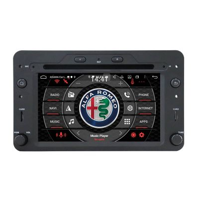 Belsee Best Aftermarket Android 10 Auto Head Unit Stereo Upgrade Radio Replacement for Alfa Romeo 159 Sportwagon Spider Brera 2005-2010 GPS Navigation System Audio Multimedia Player Sat Nav wireless Apple CarPlay Bluetooth Wifi Touch Screen