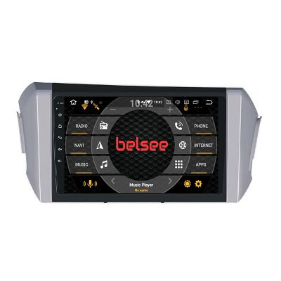 Belsee Best Aftermarket Android 10 Auto Wireless Apple CarPlay Stereo Upgrade Radio Replacement for Toyota Innova 2015-2021 9 inch Touch Screen GPS Navigation Audio Multimedia Player System Wifi Bluetooth Sat Nav PX6 DAB+