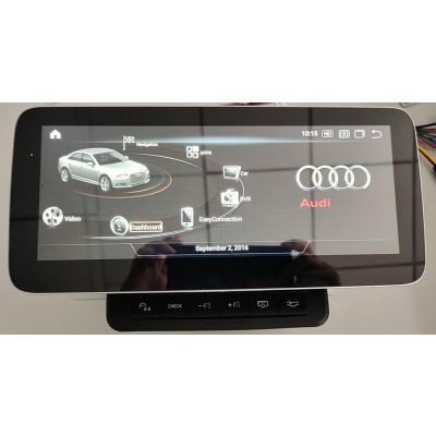 Belsee Wireless Android 11 / 10 Auto Apple CarPlay 12.5 / 10.25 inch Touch Screen Replacement Head Unit for Audi Q7 MMI 2005-2015 Best Aftermarket Radio Upgrade Stereo Audio Player GPS Navigation System Multimedia Qualcomm Snapdragon 662 6+128G Bluetooth