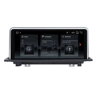 Belsee Aftermarket Navigation System Android 7.1 Nougat 10.25 Inch Touch Screen Radio Car Stereo for BMW X1 F48 2016 2017 NBT iDrive Steering Wheel Multimedia Player Bluetooth Audio WiFi Mirrorlink PX3 Quad Core Ram 2GB Rom 32GB support Apple Carplay