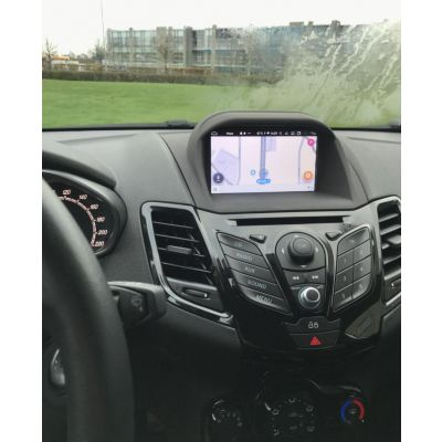 Belsee Aftermarket Ford Fiesta 2008 2009 2010 2011 2012 Head Unit Upgrade Touch Screen Radio Stereo Replacement Android 9.0 Auto Multimedia Player GPS Navigation System DSP Octa Core PX5 Apple CarPlay Android Auto Ram 4GB Rom 64GB