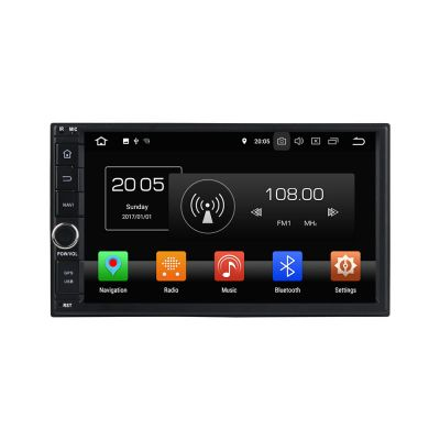 Belsee Best Android 8.0 Double 2 Din 2018 Universal Car Stereo Head Unit 7