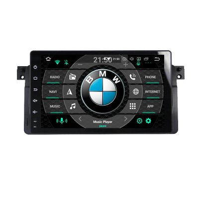 Belsee Aftermarket Android 9.0 Auto Radio Stereo Upgrade Head Unit Replacement for BMW E46 M3 3 Series 9 inch Touch Screen In Dash GPS Navigation System Apple CarPlay Android Auto Multimedia Video Audio Player Octa Core PX5 Ram 4GB Sat Nav