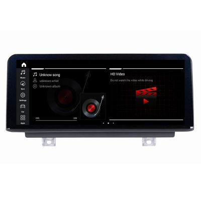 Belsee Best Aftermarket BMW 1 Series 2 Series 2018-2019 EVO iDrive System Android 10 Q Auto Stereo Radio Replacement Head Unit 8.8 inch Touch IPS Screen Upgrade GPS Navigation Audio Video Player Multimedia Apple CarPlay Bluetooth Wifi Ram 4GB Rom 64GB