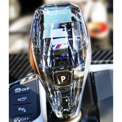 BMW Crystal Gear Shifter Knob Stick Selector Retrofit 3pc Set 3/4/5/7/8 Series GT X3 X4 X5 X6 X7 Z4
