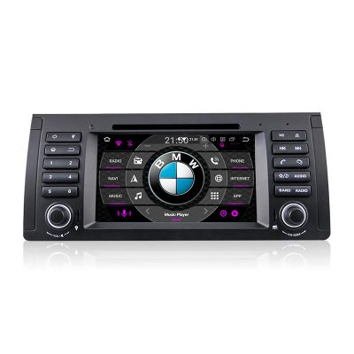 Belsee Best Aftermarket GPS Navigation System Car Radio Upgrade Stereo Replacement for BMW 5 Series E39 E53 X5 M5 Android 9.0 Auto Head Unit 9 inch Touch Screen Video Audio Multimedia Player Apple CarPlay Android Auto Ram 4GB Octa Core Sat Nav