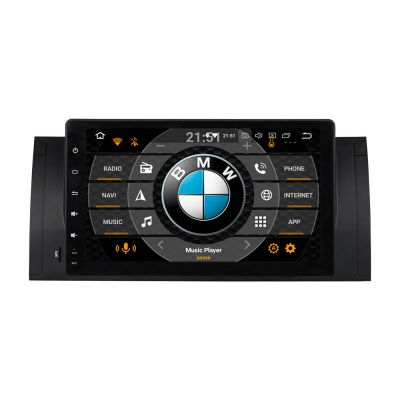 Belsee Best Aftermarket Autoradio Android 8.0 Oreo Head Unit for BMW E39 M5 E53 X5 9