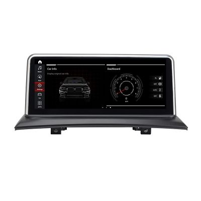Belsee Best Aftermarket BMW X3 E83 2004-2009 iDrive Android 10 Q Auto Retrofit Radio Upgrade Head Unit 10.25 inch Touch Screen GPS Navigation Audio System Multimedia Player Apple CarPlay Sat Nav Octa Core Ram 4GB Rom 64GB Stereo Replacement