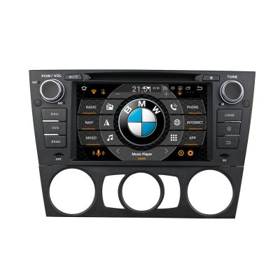 Belsee Best Aftermarket Android 8.0 Oreo Head Unit Autoradio for BMW E90/E91/E92/E93 2005-2012 7inch Dual IPS Screen GPS Navigation Multimedia Video Audio Player Octa Core PX5 Ram 4GB Rom 32GB support Apple Carplay Android Auto Wifi TPMS Bluetooth 4G