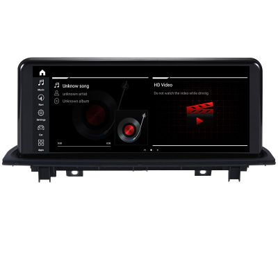 Belsee Best Aftermarket BMW X1 EVO 2018-2019 iDrive Android 10 Q Auto Retrofit Head Unit Radio Replacement 10.25 inch Touch Display Screen Upgrade In Dash GPS Navigation Audio Stereo Player System Octa Core Ram 4GB Rom 64GB Apple CarPlay Sat Nav Bluetooth