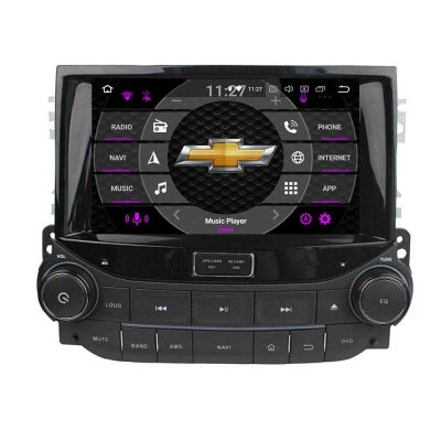 Belsee Best Aftermarket Chevrolet Chevy Malibu 2012-2016 Android 10 Auto Head Unit Stereo Upgrade 8 inch Touch Dual Screen Car Radio Replacement Wireless Apple CarPlay In Dash GPS Navigation Audio System CD DVD player Multimedia Wifi Bluetooth